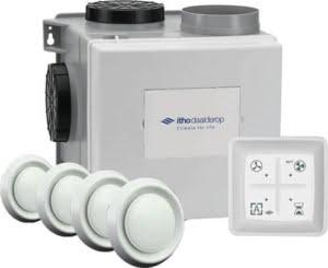 mechanische ventilatie box