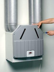 wtw ventilatie box